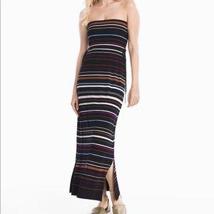 WHBM convertible maxi skirt
